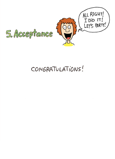 5 Stages Accomplishment Congratulations Ecard Inside