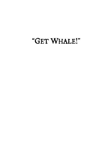 Ahab's Advice Get Well Card Inside