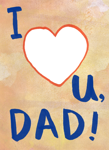 All My Heart FD Father's Day Card Cover