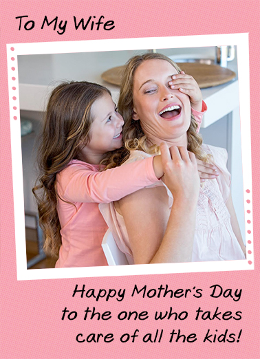 All the Kids Mother's Day Ecard Cover