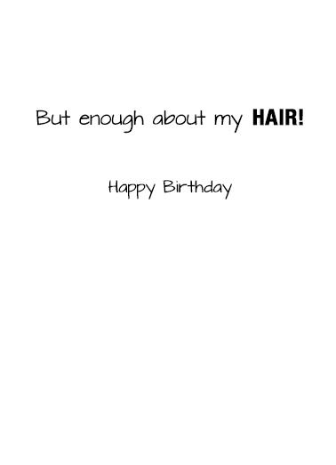 Amazing Growth Birthday Card Inside
