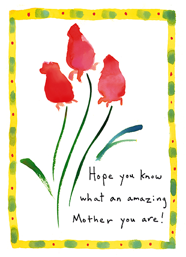 Amazing Mother  Ecard Cover