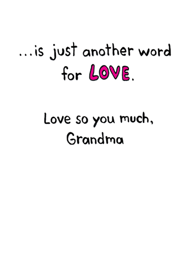 Another Word Mother's Day Ecard Inside