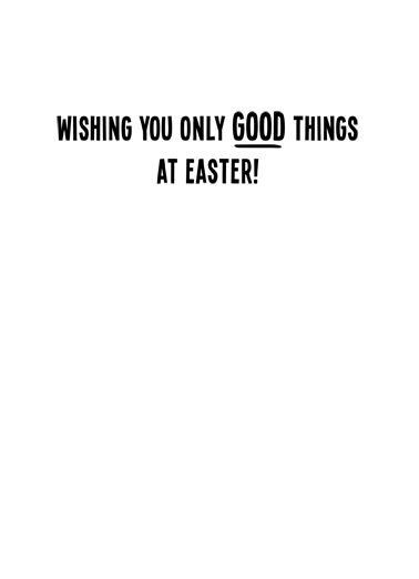 Bad Hare Day Easter Ecard Inside