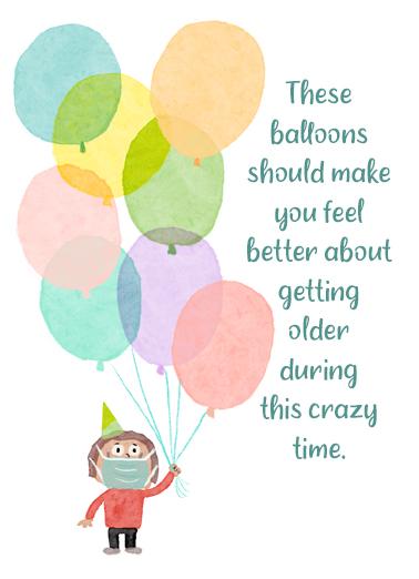 Balloons Healium  Card Cover