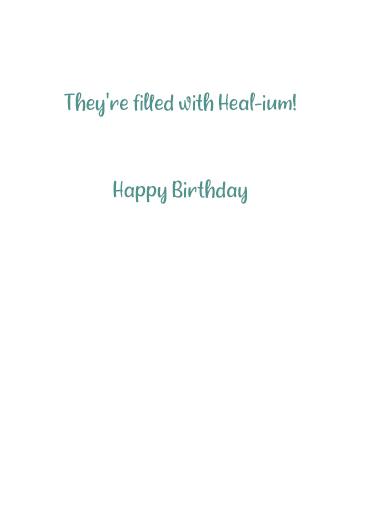 Balloons Healium Quarantine Card Inside