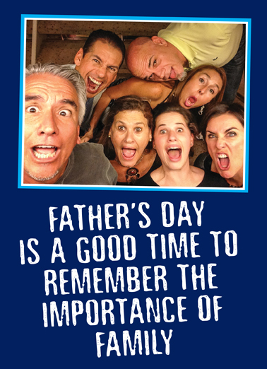 Be Nice Dad From Family Ecard Cover