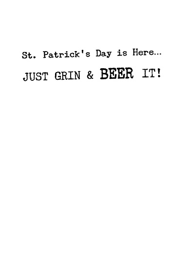 Beer It  Ecard Inside