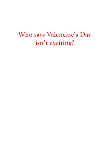 Bernie Valentine Valentine's Day Card Inside