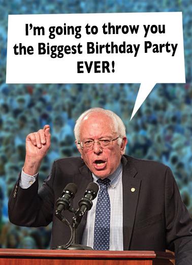 Bernie  Card Cover