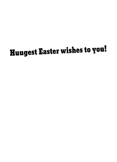 Best At Easter Cartoons Card Inside