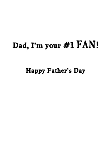 Best Dad Father's Day Card Inside