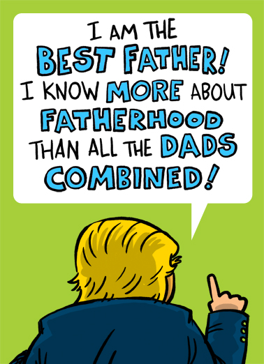 Best Father Father's Day Card Cover