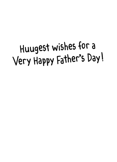 Best Father Father's Day Card Inside