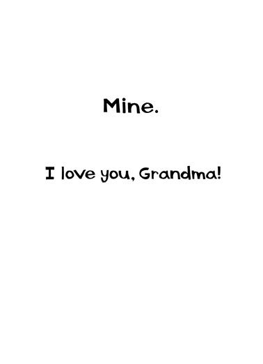 Best Grandma MD Megan Card Inside