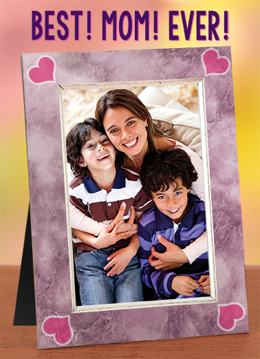 Best Mom Mother's Day Ecard Cover