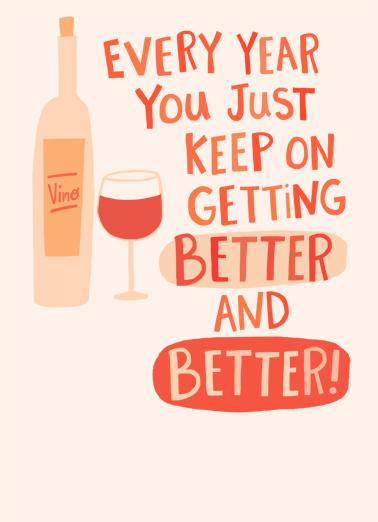 Better Better Wine Wine Ecard Cover
