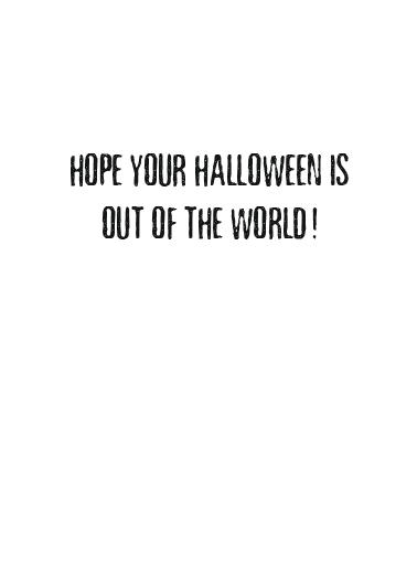 Beware Monsters Halloween Ecard Inside