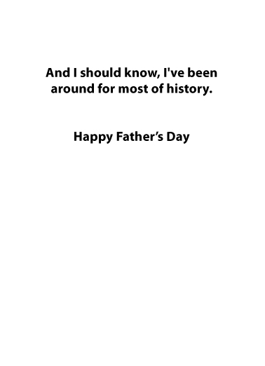 Biden Blow Out FD Father's Day Card Inside