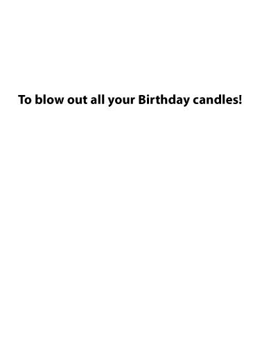 Biden Blow Out Birthday Card Inside