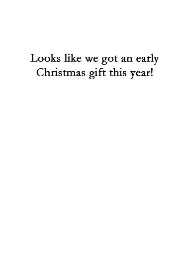 Biden Harris XMAS Christmas Card Inside