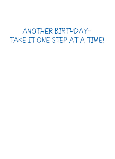 Biden Stairway Birthday Card Inside