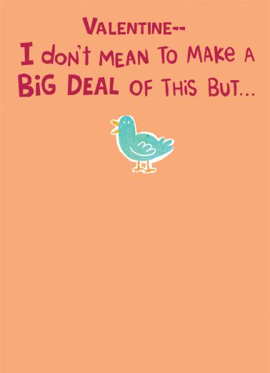 Big Deal Funny Animals Ecard Cover