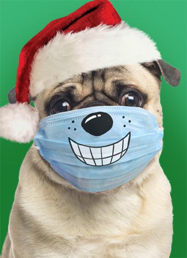 Big Smiles XMAS Christmas Card Cover