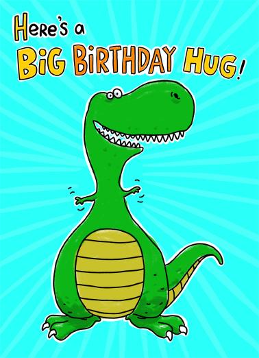 Big to Me Birthday Ecard Cover