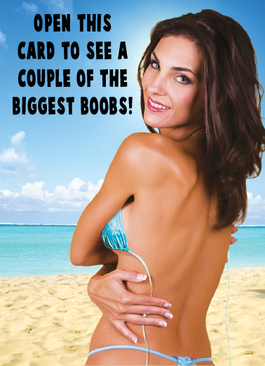 Biggest Boobs Funny Political Ecard Cover