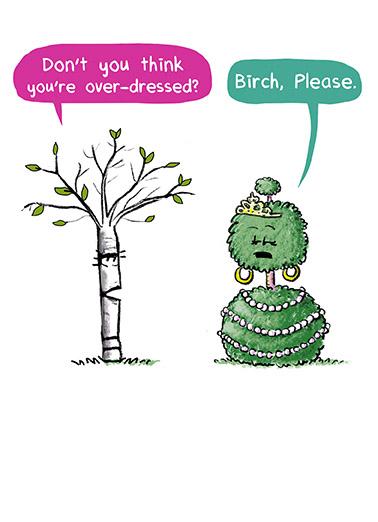 Birch Please Birthday Birthday Card Cover
