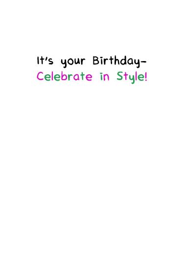 Birch Please Birthday Birthday Card Inside