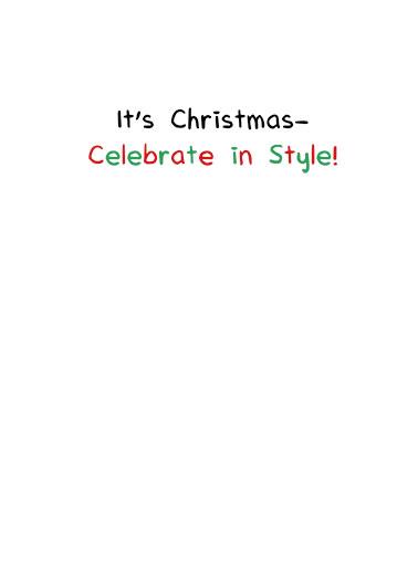 Birch Please Christmas Ecard Inside