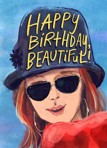 Birthday Beautiful Birthday Card Cover