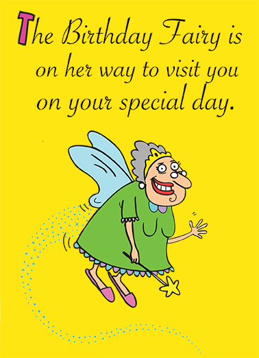 Birthday Fairy Birthday Ecard Cover