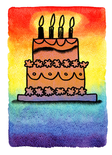 Birthday Wishes Cake Birthday Ecard Cover