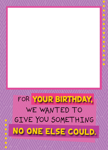 Birthday from Both Add Your Photo Ecard Cover