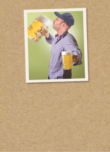 Bud Knew Drinking Card Cover