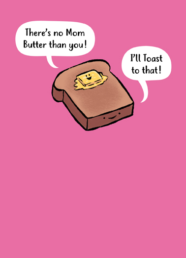 Butter Toast MD Mother's Day Ecard Cover