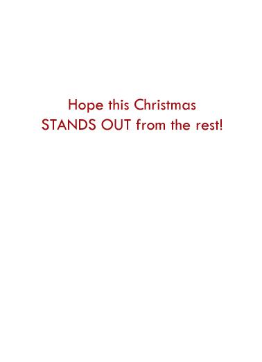 Carrot Christmas Card Inside