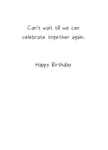 Celebrate Together  Card Inside