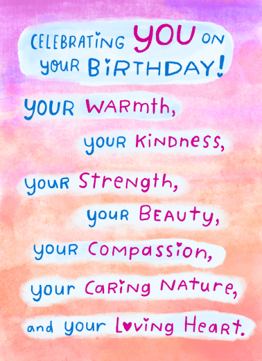 Celebrating You Uplifting Cards Card Cover