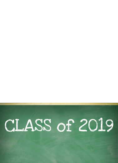 Class Act Graduation Card Cover