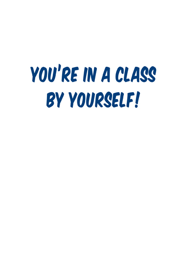 Class of 2016 Graduation Card Inside
