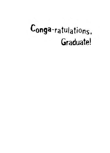 Congarats Graduation Card Inside