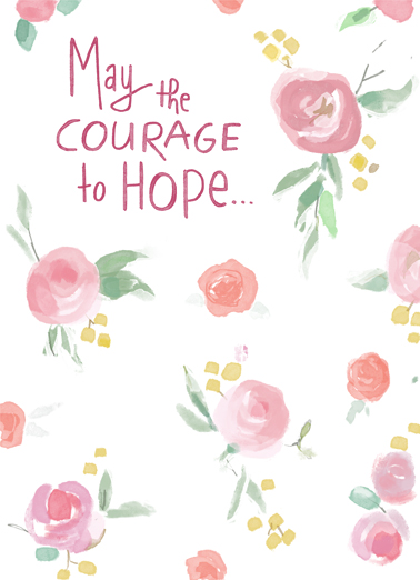 Courage to Hope One from the Heart Card Cover