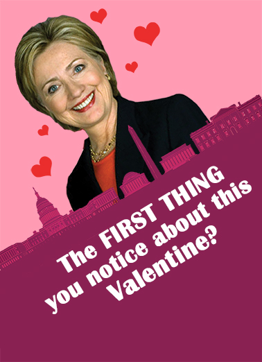 Crooked Valentine Funny Political Ecard Cover