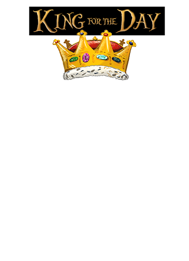 Crown King Add Your Photo Ecard Cover