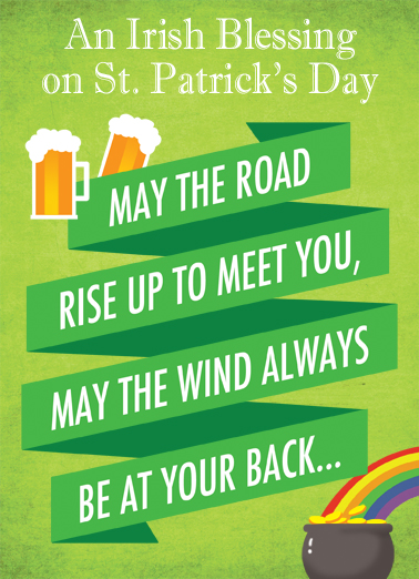 Cut One St. Patrick's Day Card Cover