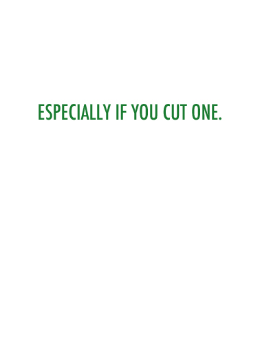 Cut One St. Patrick's Day Card Inside